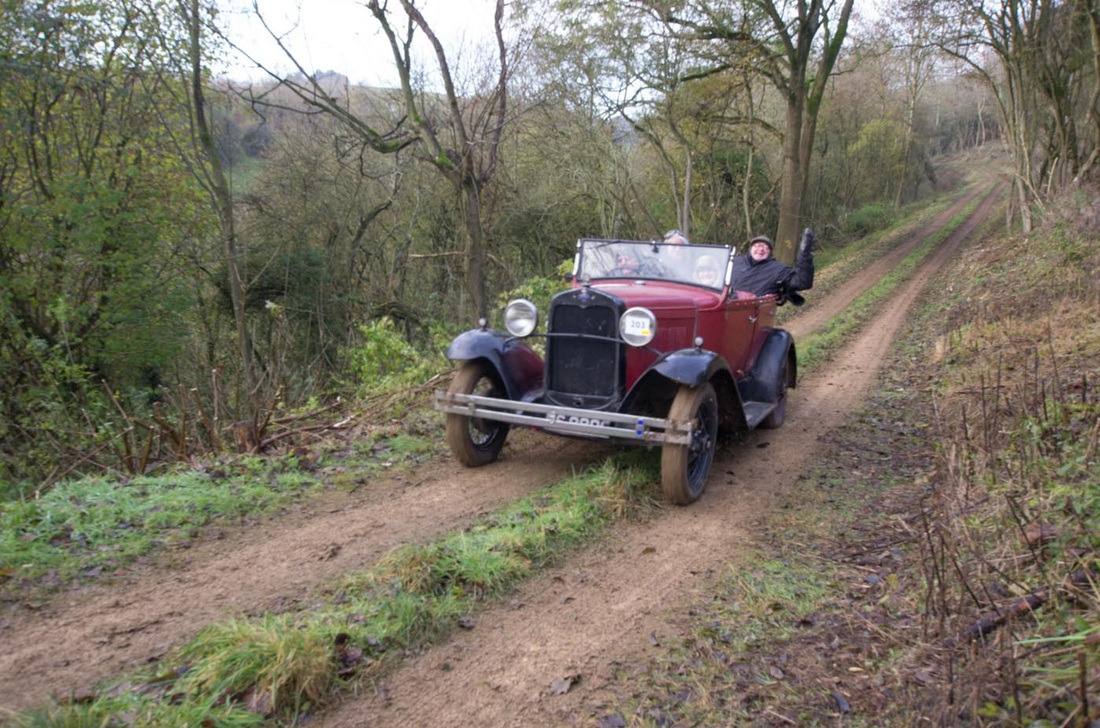 Vintage Sports Car Club Trial - Rusty Aldwinckle Photographer